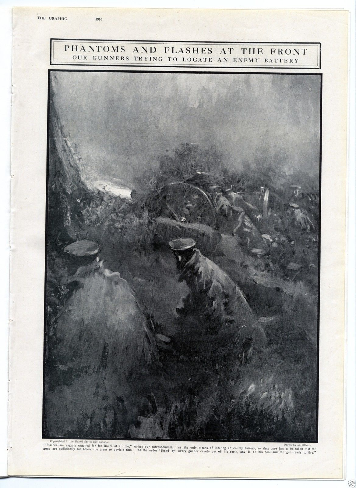 1916 THE GRAPHIC Newspaper WW1 GUTERSLOH POW s Verdun BARBED WIRE ...